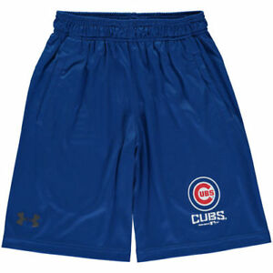 Under Armour Chicago Cubs Youth Royal Intimidator Performance Shorts - MLB