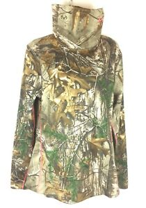 Under Armour Womens CG Infrared Evo Scrunch Neck Thermal Camo Hunting Shirt XL