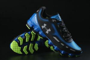 Brand New Under Armour SCORPIO Blue Black Shoes 11 US Size Free Shipping