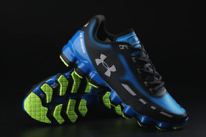 Brand New Under Armour SCORPIO Blue Black Shoes 9.5 US Size Free Shipping
