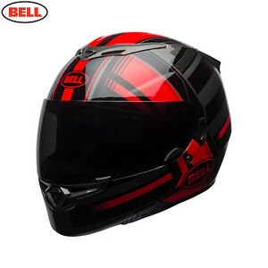 Bell 2018 RS-2 Full Face Motorcycle Helmet - Tactical RedBlackTitanium
