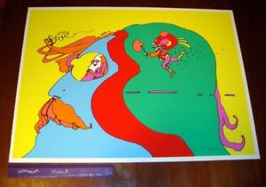 Peter Max ~ Remember How~ #85100 Original Hand Signed Lithograph Print Mint