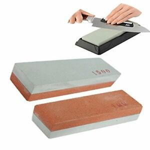 400#&1500# Two Sides Sharpener Duel Knife Razor Grit Whetstone Sharpening Stone