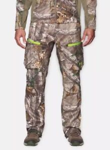 NWT UNDER ARMOUR REALTREE AP XTRA COLD GEAR CAMOUFLAGE SCENT CONTROL PANTS 3XL
