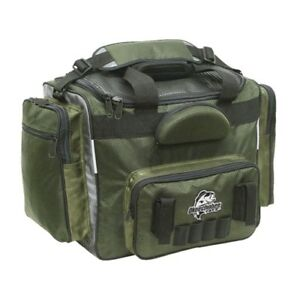 Fishing Tackle Bag LARGE Pockets All Over Spacious Durable Bass Pike Walleye Bit
