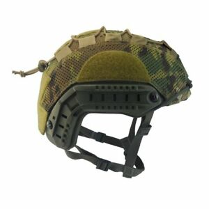 US UK Army Tactical MOHAWK AIR OPS CORE COVER FOR FAST Helmet Multicam SIZE L