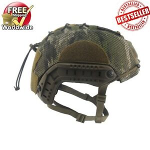 US UK SF Army Tactical MOHAWK AIR OPS CORE COVER FAST Bump Helmet Multicam ML
