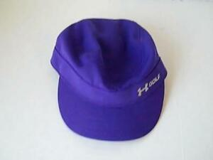 Under Armour Womens Purple Golf Hat Cap Adjustible  100% Polyester