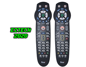2 CERTIFIED Universal Verizon Fios TV Remote Control For All Set Top Boxes!!!