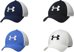 Under Armour Men's Threadborne Golf Mesh Cap 4 Colors