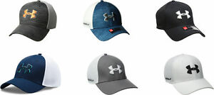 Under Armour Men's Golf Mesh Stretch 2.0 Cap 6 Colors
