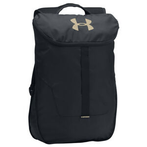 Under Armour Expandable Sackpack - Black  Gold