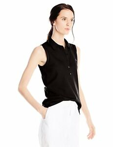 Lacoste Women's Sleeveless Stretch Pique Slim-Fit Polo Shirt - Choose SZColor