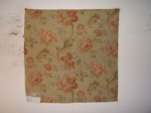 Highland Court quot;Antique Roses Tapestryquot; fabric remnants various colors $24.00