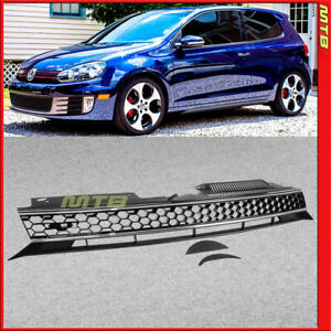 GTI Style Front Grille 2010-2014 Golf GTI Hatchback Jetta Wagon Mesh Honeycomb