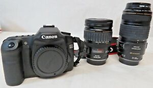 Canon EOS 50D w EF 28-135mm EF 70-300mm Lenses & More Accessories