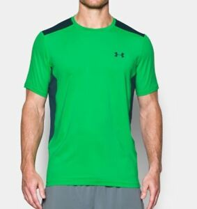 Under Armour MEN'S UA Raid Short Sleeve Fitted T-Shirt Shirts 1257466 NEW!