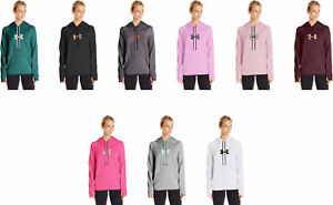 Under Armour Women's Icon Caliber Hoodie 9 Colors