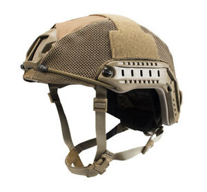 First Spear Coyote Brown Tan Ops-Core FAST Viper Hybrid Mesh Helmet Cover Large