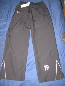 UNDER ARMOUR WOMAN'S ALL SEASON GEAR LOOSE FIT UA TEAM TRACK PANT SZ S NEW WITH