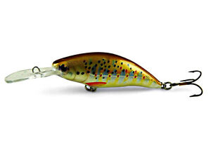 Ugly Duckling FISHING LURE Hand Made Balsa Woodsmall crankbait for bass fishing