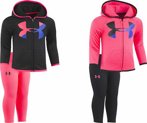 Under Armour Baby Girls' Big Logo Hoody Set 2 Colors