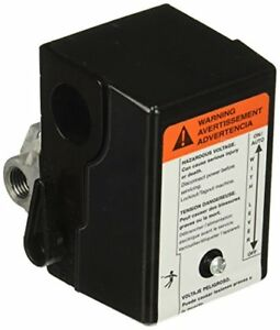 Pressure Switch Single Stage Compressor Ingersoll Rand 23474653 135 Psig Cut-In