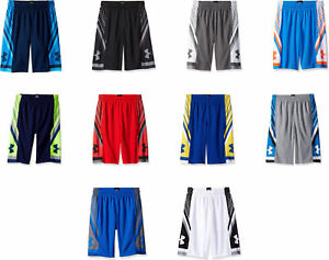 Under Armour Boys' Space the Floor Shorts 10 Colors