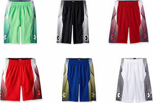 Under Armour Boys' Space The Floor Nov Shorts 6 Colors