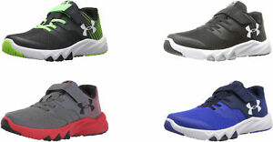 Under Armour Boys Pre School Primed 2 Adjustable Closure Running Shoes 4 Colors