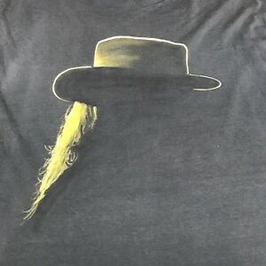 Very Rare Stevie Ray Vaughn 80s Ringer Muscle Shirt Paper Thin Limited Edition L