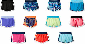 Under Armour Girls' Fast Lane Shorts 11 Colors