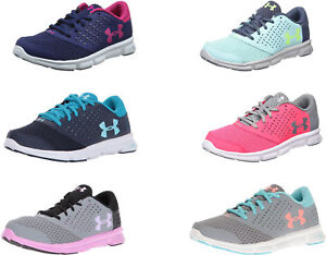 Under Armour Girls' Grade School Micro G Rave Shoes 6 Colors