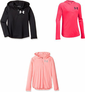Under Armour Girls Tech 14 Zip Hoody 3 Colors