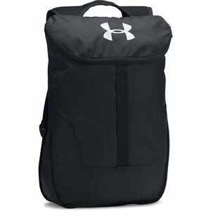 UNDER ARMOUR NEUF pour hommes Extensible sackpack Noir - Neuf