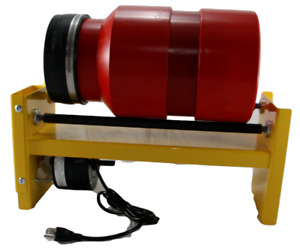 2.75 Gal 40lb Rotary Tumbler Brass Shell Case Cleaning Reloading use w SS Media
