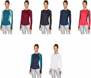 Under Armour Women's HexDelta Run Long Sleeve Shirt 7 Colors