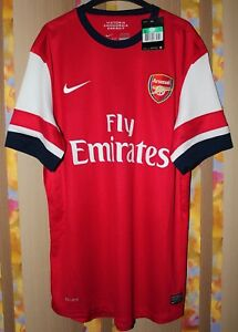 BNWT ARSENAL LONDON 2013 2014 NIKE PLAYER ISSUE HOME FOOTBALL SHIRT JERSEY