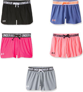 Under Armour Girls' Play Up Shorts 5 Colors