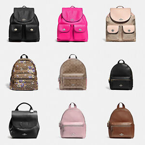 Coach F37410 Pebble Leather Billie Backpack