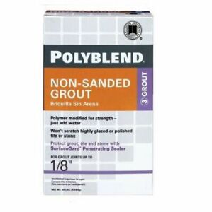 Custom Building Products Polyblend 10 Lb Non Sanded Tile Grout