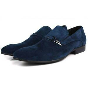 Men's anti - flannelette flat-heeled Pointed Shoes business dress Casual shoes