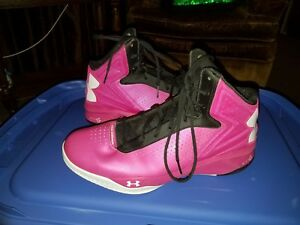 Under Armour Micro G Basketball Shoes Torch Women's Size 11.5 NEW hot pink black
