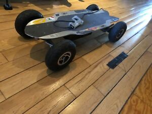 used electric skateboard- e glide AT - good condition