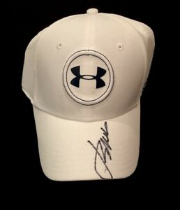 JORDAN SPIETH SIGNED AUTOGRAPHED COA UNDER ARMOUR HAT MASTERS PGA BRAND NEW 1