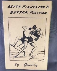 Female Wrestling Book by GundyStanto Betty Fights For A Better Position Erotic