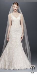 NEW- Oleg Cassini Wedding Dress