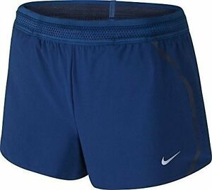Womens Nike Aeroswift Running Shorts Blue Extra Small- NEW W'TAGS  RRP 49.99