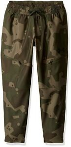 Under Armour Youth Boys Large Camo Cargo Courtside Pants NWT Green Kids $70