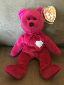 Ty Beanie Babie Valentina VERY RARE NEW MWMT 1st Ed.Collectors Item Tag Rarities